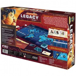 Pandemic Legacy: Season 1 Red Edition (2015) - настолна игра