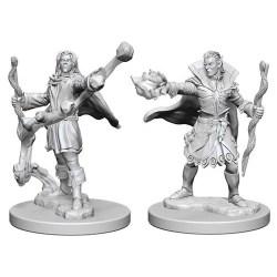 Pathfinder Battles Deep Cuts Unpainted Miniatures Wave 1 - Elf Male Sorcerer в D&D и други RPG / D&D Миниатюри