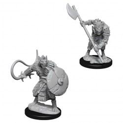 Pathfinder Battles Deep Cuts Unpainted Miniatures Wave 1 - Gnolls in D&D Miniatures