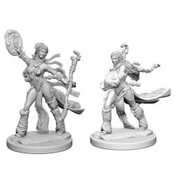 Pathfinder Battles Deep Cuts Unpainted Miniatures Wave 1 - Human Female Sorcerer в D&D и други RPG / D&D Миниатюри