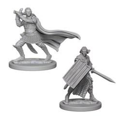 Pathfinder Battles Deep Cuts Unpainted Miniatures Wave 2 - Elf Male Paladin в D&D и други RPG / D&D Миниатюри
