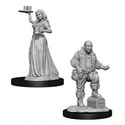 Pathfinder Battles Deep Cuts Unpainted Miniatures Wave 3 - Merchants in D&D Miniatures