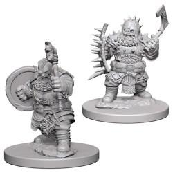 Pathfinder Battles: Deep Cuts Unpainted Miniatures Wave 4: Dwarf Male Barbarian в D&D и други RPG / D&D Миниатюри