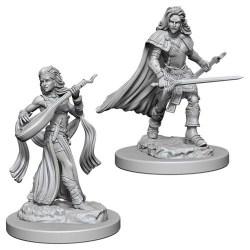 Pathfinder Battles: Deep Cuts Unpainted Miniatures Wave 4: Human Female Bard в D&D и други RPG / D&D Миниатюри