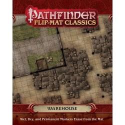 Pathfinder RPG: Flip-Mat Classics - Warehouse - терени за игра за D&D и други ролеви игри в D&D и други RPG / D&D / Pathfinder терен
