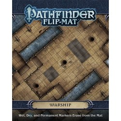 Pathfinder RPG: Flip-Mat - Warship in Pathfinder Terrain