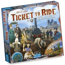 Ticket to Ride Map Collection: Volume 6 – France & Old West (2017) - разширение за настолна игра