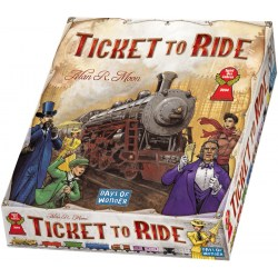 Ticket to Ride (USA) - фамилна настолна игра
