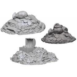 Wizkids Unpainted Miniatures Wave 3 - Treasure Piles в D&D и други RPG / D&D Миниатюри