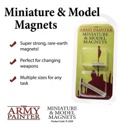 Army Painter - Miniature and Model Magnets in Brushes, paints and more