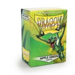 Dragon Shield Standard Sleeves - Matte Apple Green - матови протектори за карти (светло зелени) 100 бр. в LCG, 63.5x88 мм)