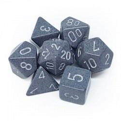 Polyhedral 7-Die Set: Chessex Speckled Hi-Tech in Dice sets