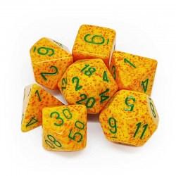 Комплект D&D зарове: Chessex Speckled Lotus в Зарове за игри