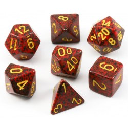 Комплект D&D зарове: Chessex Speckled Mercury в Аксесоари / Зарове за игри