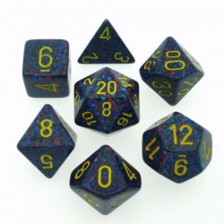 Polyhedral 7-Die Set: Chessex Speckled Twilight in Dice sets