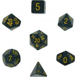 Polyhedral 7-Die Set: Chessex Speckled Urban Camo in Dice sets