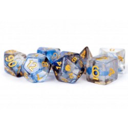Комплект D&D зарове: Unicorn Resin Polyhedral Dice Set Arctic Storm в Зарове за игри