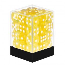 Комплект Зарове 36 броя Blackfire Transparent Yellow - шестенни зарове в Зарове за игри
