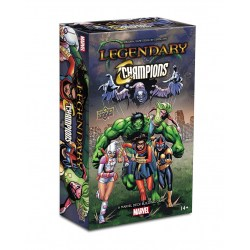 Legendary: A Marvel Deck Building Game - Champions Small Box Expansion (2018)