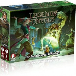 Legends Untold: The Great Sewers Novice Set (2019) - кооперативна настолна игра