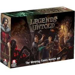 Legends Untold: Weeping Caves Novice Set (2019) - кооперативна настолна игра