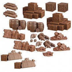 Mantic Games: Terrain Crate - Dungeon Debris в Терени за игри