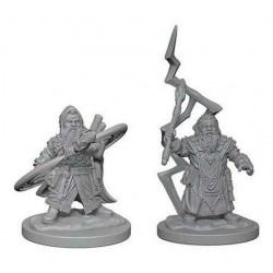 Pathfinder Battles Deep Cuts Unpainted Miniatures Wave 4: Dwarf Male Sorcerer в D&D и други RPG / D&D Миниатюри
