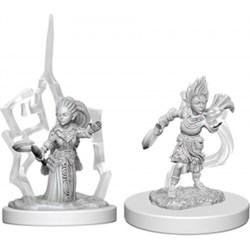 Pathfinder Battles: Deep Cuts Unpainted Miniatures Wave 5: Gnome Female Druid в D&D и други RPG / D&D Миниатюри