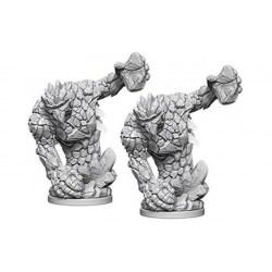 Pathfinder Battles Deep Cuts Unpainted Miniatures Wave 5: Medium Earth Elemental в D&D и други RPG / D&D Миниатюри