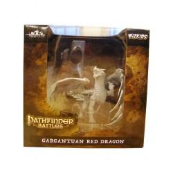 Pathfinder Deep Cuts Unpainted Miniatures: Gargantuan Red Dragon в D&D и други RPG / D&D Миниатюри