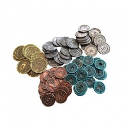Scythe: Metal Coins Accessories Board Game
