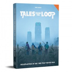 Tales from the Loop RPG: Rulebook (Hardcover, 80's Era RPG)