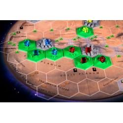 Terraforming Mars - Set of 10 Greenery 3D Hex Tiles