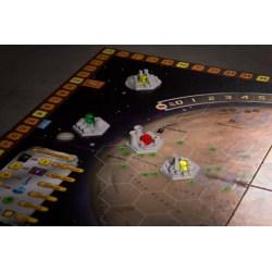 Terraforming Mars - Set of 4 Space Colony 3D Hex Tiles