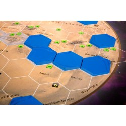 Terraforming Mars - Set of 9 Ocean 3D Hex Tiles