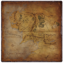 The Lord of the Rings: Journeys in Middle-earth - Middle-earth Gamemat
