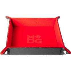 "Velvet Folding Dice Tray 10x10"" - Red в Други аксесоари"