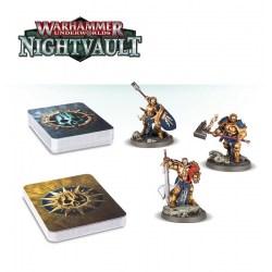 Warhammer Underworlds Warband: Nightvault – Steelheart's Champions Board Game