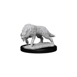 WizKids Deep Cuts Unpainted Miniatures: Wave 7 Timber Wolves в D&D и други RPG / D&D Миниатюри