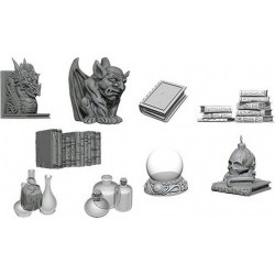 WizKids Deep Cuts Unpainted Miniatures Wave 5: Wizard's Room в D&D и други RPG / D&D Миниатюри
