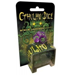 Cthulhu Dice (Purple) - настолна игра