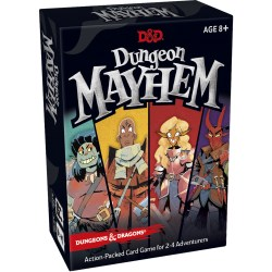 D&D Dungeon Mayhem Card Game (2018) - настолна игра