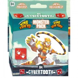 King of Tokyo/New York: Monster Pack – Cybertooth (2019) Board Game