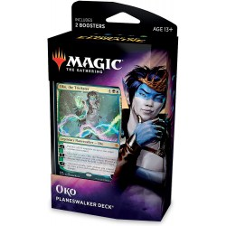 MTG: Throne of Eldraine Planeswalker Deck - Oko, The Trickster
