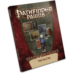 Pathfinder Pawns: Traps & Treasures Pawn Collection in Pathfinder Terrain