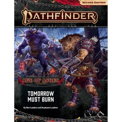 Pathfinder RPG: Adventure Path #147 Tomorrow Must Burn (Age of Ashes 3 of 6, 2019) in Pathfinder 2nd Edition Books