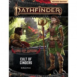 Pathfinder RPG: Adventure Path - Age of Ashes #2 Cult of Cinders (Second Edition) in Pathfinder 2nd Edition Books