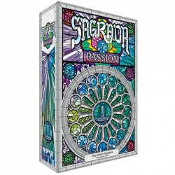 Sagrada: The Great Facades – Passion Expansion (2019) Board Game