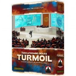 Terraforming Mars: Turmoil Expansion (Retail издание, 2019) - разширение на настолна игра Тераформирай марс