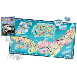 Ticket to Ride Map Collection: Volume 7 - Japan & Italy (2019)  - разширение за настолна игра